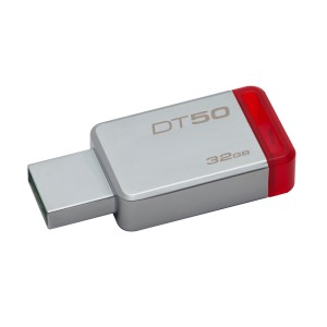 MEMORIA KINGSTON USB 3.0 32GB DT50 RED 2
