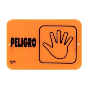 """SEÑALIZACION SABLON 7940F 22.8X15.2CM.""""PELIGRO"""""""