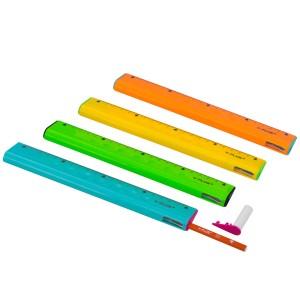 REGLA PLASTICA Y-PLUS 20 CMS. RX1701 4 EN 1 (20X20)