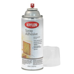 SPRAY KRYLON KR7010 ADHESIVO 11OZ.