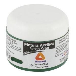 PINTURA ACRILICA ATENEA 250ML 164 VERDE OLIVA