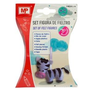 SET FIGURAS DE FIELTRO MP PM251-14 VACA (12X12)