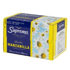 TE SUPREMO MANZANILLA CX20