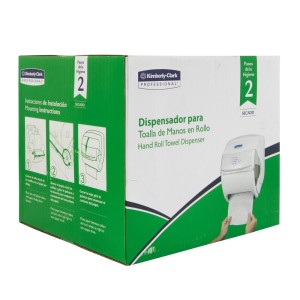 DISPENSADOR DE TOALLAS DE PAPEL KIMBERLY-CLARK P/MANOS 2