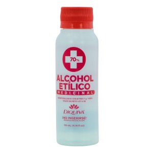 ALCOHOL ETILICO DIQUIVA 70% 4 OZ.