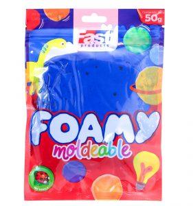 FOAMY MOLDEABLE FAST 50GRS AZUL (200)