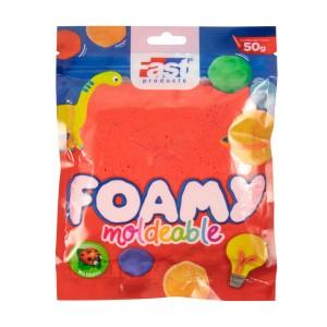 FOAMY MOLDEABLE FAST 50GRS ROJO (200)
