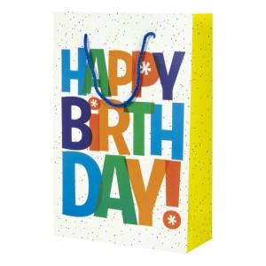 BOLSA DE REGALO GRANMARK 845-4135 GDE HAPPY BIRTHDAY