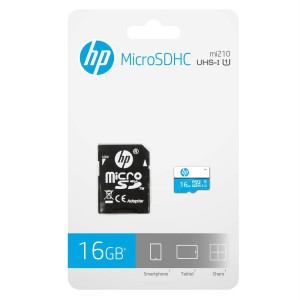 MEMORIA HP MICRO SD 16GB U1 CL10