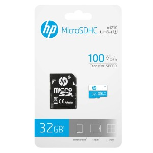 MEMORIA HP MICRO SD 32GB U1 CL10 2
