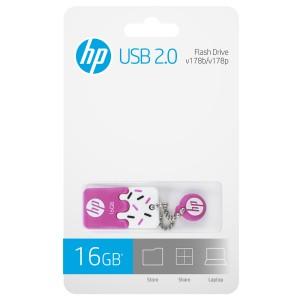 MEMORIA HP 2.0 USB 16GB V178P PINK C/DISEÑO