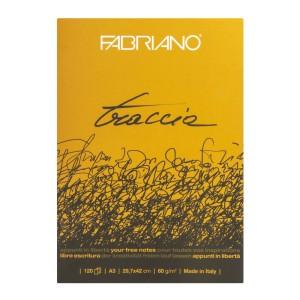 BLOCK TRACCIA FABRIANO 19100495 120H. 60GR. 29.7 X 42 CMS.  (8)