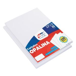 CARTULINA OPALINA FAST 220GR PX25 BLANCO CARTA (90)