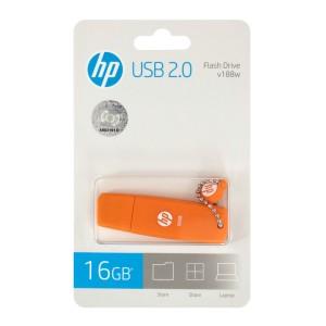 MEMORIA HP 2.0 USB 16GB V188O NARANJA