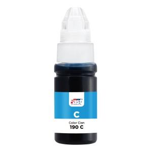 TINTA FAST 190C CANON G1100/G2100/G3100/G4100  CYAN (70ML)