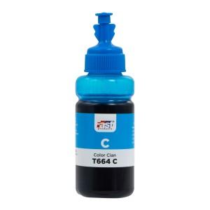 TINTA FAST T664-C EPSON L120/L220/L380/L575  CYAN (70ML)