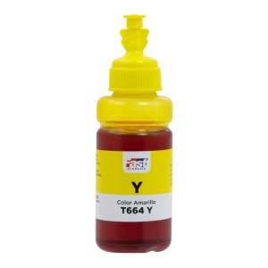 TINTA FAST T664-Y EPSON L120/L220/L380/L575  YELLOW  (70ML)