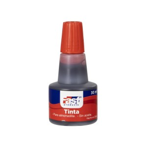 TINTA P/ALMOHADILLA FAST GOTERO 30ML ROJO (360)