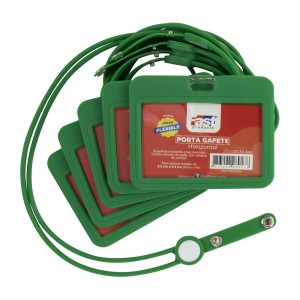 GAFETES FAST 627H PX5 SILICON C/PITA HORIZONTAL VERDE (60)