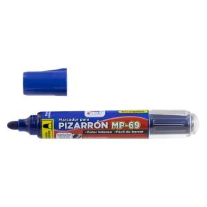 MARCADOR P/PIZARRA FAST MP-69 RECARGABLE  BX1 AZUL