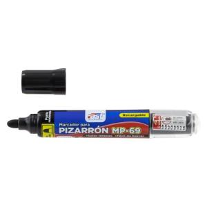 MARCADOR P/PIZARRA FAST MP-69 RECARGABLE BX1 NEGRO