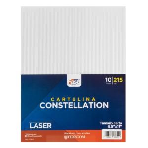 CARTULINA CONSTELLATION FAST 215GR. PX10 CARTA E43 LASER