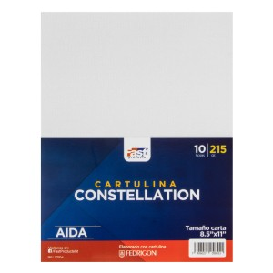 CARTULINA CONSTELLATION FAST 215GR. PX10 CARTA E/R55 AIDA