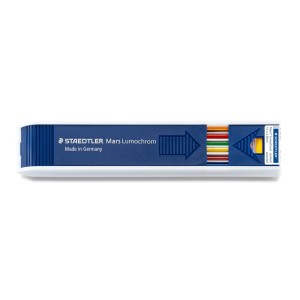 MINAS 2MM. STAEDTLER TUBO X 10 COLORES