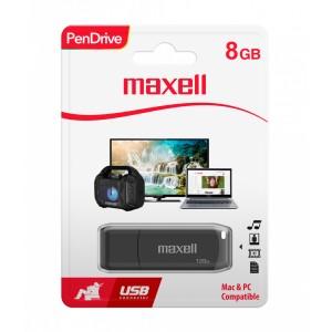 MEMORIA MAXELL USB 8GB PEN DRIVE (25)