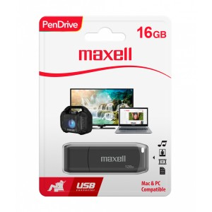 MEMORIA MAXELL USB 16GB PEN DRIVE (25)