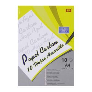 PAPEL CARBON MP PN202Y PX10 HOJAS AMARILLO (12X12)