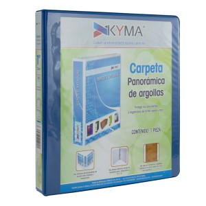 CARTAPACIO KYMA C/FUNDA 1″ AQUA (12)