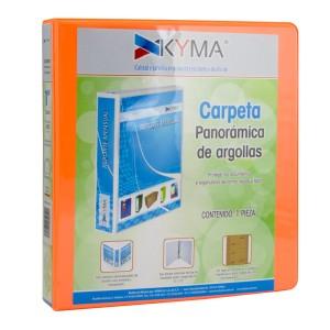 CARTAPACIO KYMA C/FUNDA 1″ NARANJA NEON (12)