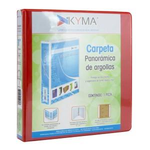 CARTAPACIO KYMA C/FUNDA OFICIO 1″ ROJO (12)