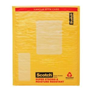 SOBRE PLASTICO SCOTCH 8915 C/BURBUJAS 10.5X15.25″ (100)