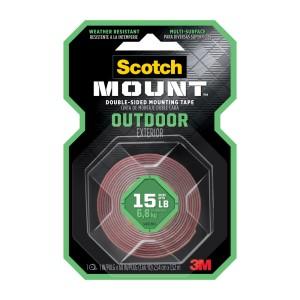 CINTA ADHESIVA SCOTCH 411H MOUNTING EXTERIORES 1″X 60″ SUPER FUERTE (24)