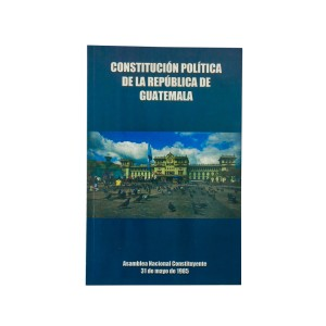 LIBRO CONSTITUCION POLITICA DE LA REPUBLICA