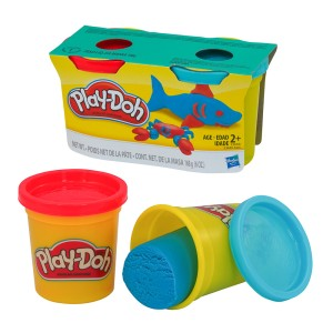 PLAY DOH 23655 2 PACK 6 ONZ. COL. SURTIDOS (24)