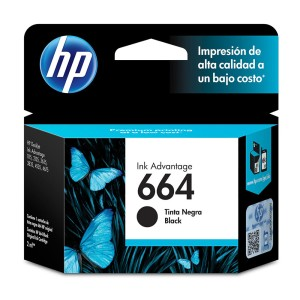 TINTA HP 664 NEGRO P/1115/2135/3635
