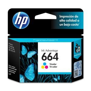 TINTA HP 664 TRI COLOR P/1115/2135/3635/3775