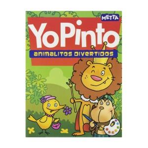 LIBRO PARA COLOREAR ANIMALITOS DIVERTIDOS METTA 3036