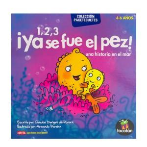 LIBRO CUENTOS EDUCATIVOS 1,2,3 YA SE FUE EL PEZ METTA 3104
