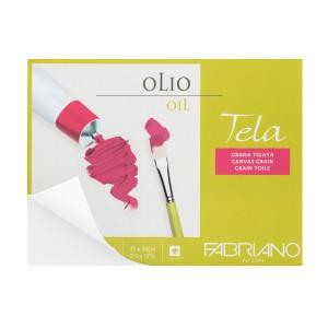 BLOCK OLEO FABRIANO 68002432 10H. 300GR. TELA  9.5X12.5