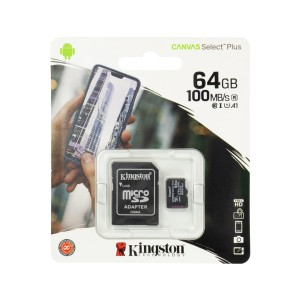 MEMORIA KINGSTON MICRO SD 64GB CL10