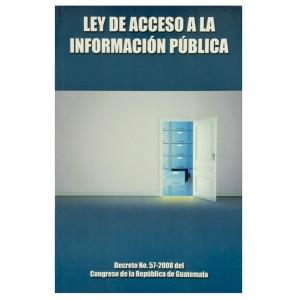 LIBRO LEY ACCESO A LA INFORMACION PUBLICA