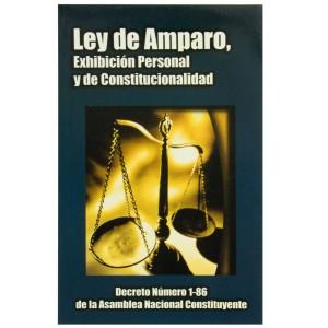 LIBRO LEY AMPARO, EXHIBICIÓN PERSONAL Y DE CONSTITUCIONALIDAD