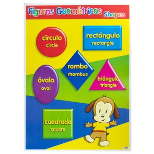 POSTER DIDACTICO GRANMARK 1310-1 70X50CMS FIGURAS GEOMETRICAS (6)