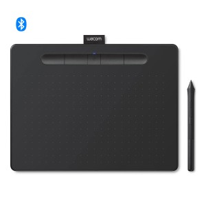 TABLET WACOM INTUOS COMFORT MEDIUM BLACK BLUETOOTH MPN CTL6100WLKO