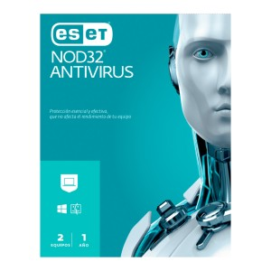 ANTIVIRUS ESET NOD 32  (2 USUARIOS)