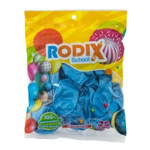GLOBO RODIX NO.9 BX25 METALICO CELESTE (200)